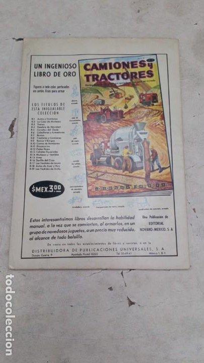 Tebeos: Domingos Alegres El Piloto sin rostro 1 Noviembre 1964 Novaro MUY BUEN ESTADO - Foto 2 - 218142573