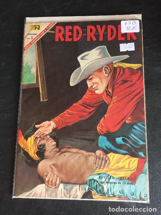 NOVARO RED RYDER NUMERO 150 BUEN ESTADO (Tebeos y Comics - Novaro - Red Ryder)