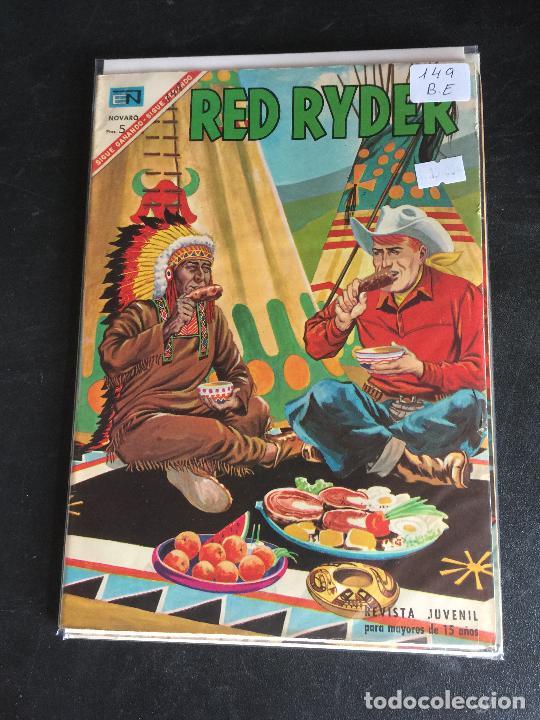 NOVARO RED RYDER NUMERO 149 BUEN ESTADO (Tebeos y Comics - Novaro - Red Ryder)