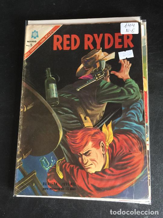NOVARO RED RYDER NUMERO 144 NORMAL ESTADO (Tebeos y Comics - Novaro - Red Ryder)