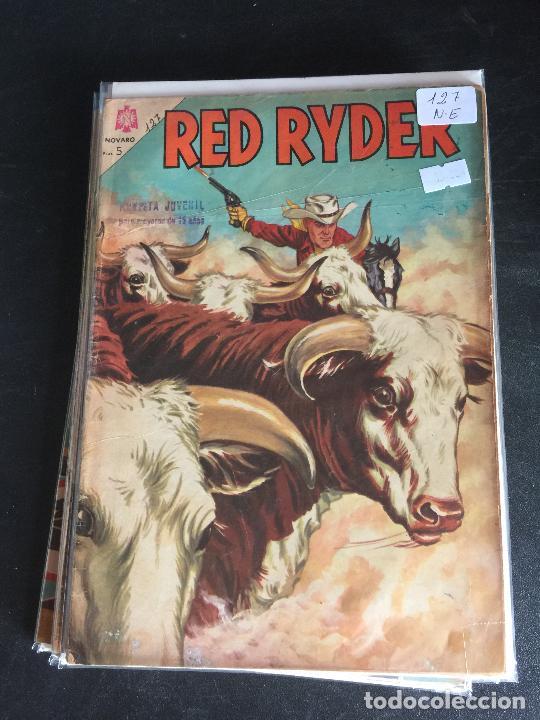 NOVARO RED RYDER NUMERO 127 NORMAL ESTADO (Tebeos y Comics - Novaro - Red Ryder)