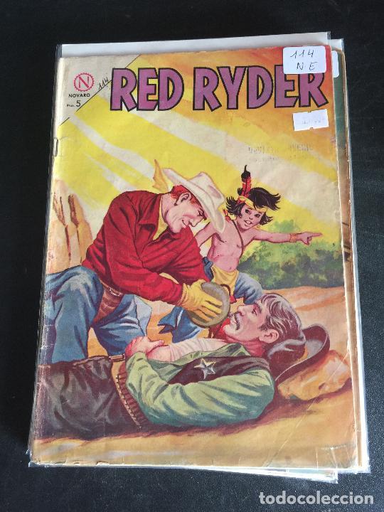 NOVARO RED RYDER NUMERO 114 NORMAL ESTADO (Tebeos y Comics - Novaro - Red Ryder)