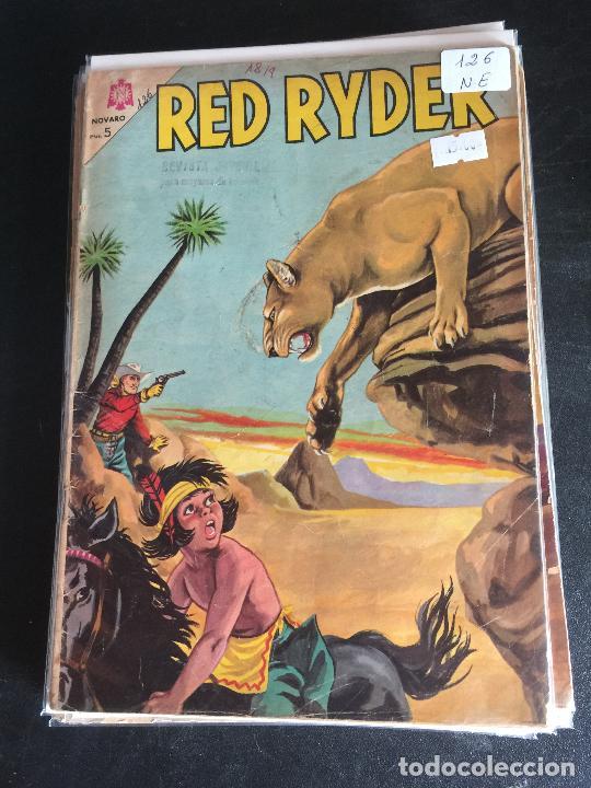 NOVARO RED RYDER NUMERO 126 NORMAL ESTADO (Tebeos y Comics - Novaro - Red Ryder)