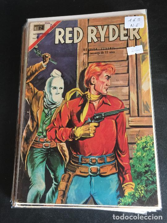 NOVARO RED RYDER NUMERO 165 NORMAL ESTADO (Tebeos y Comics - Novaro - Red Ryder)