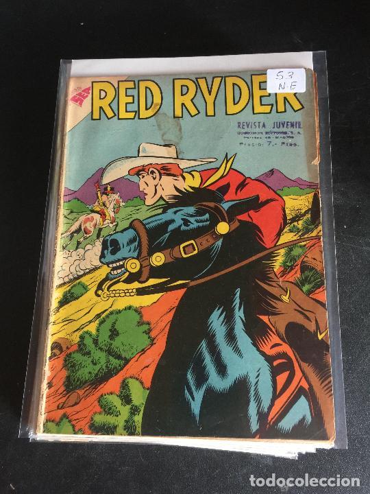 NOVARO RED RYDER NUMERO 53 NORMAL ESTADO (Tebeos y Comics - Novaro - Red Ryder)