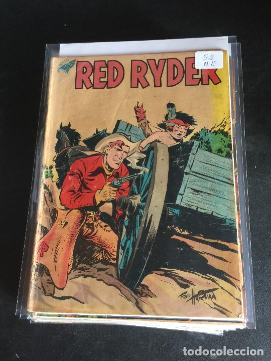 NOVARO RED RYDER NUMERO 52 NORMAL ESTADO (Tebeos y Comics - Novaro - Red Ryder)
