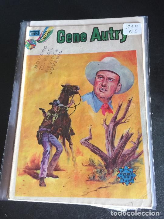 NOVARO GENE AUTRY NUMERO 299 NORMAL ESTADO (Tebeos y Comics - Novaro - Otros)
