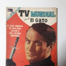 Tebeos: TV MUNDIAL Nº 128 - EL GATO - ORIGINAL EDITORIAL NOVARO. Lote 218186708