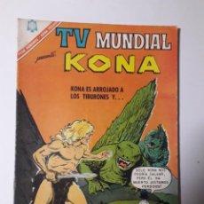 Tebeos: TV MUNDIAL Nº 90 - KONA - ORIGINAL EDITORIAL NOVARO. Lote 218187037