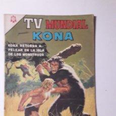 Tebeos: TV MUNDIAL Nº 70 - KONA - ORIGINAL EDITORIAL NOVARO. Lote 218187271