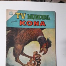Tebeos: TV MUNDIAL Nº 47 - KONA - ORIGINAL EDITORIAL NOVARO. Lote 218187605