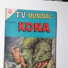 Tebeos: TV MUNDIAL Nº 34 - KONA - ORIGINAL EDITORIAL NOVARO. Lote 218187767