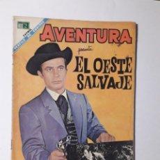 Tebeos: AVENTURA Nº 563 - EL OESTE SALVAJE - ORIGINAL EDITORIAL NOVARO. Lote 218188078