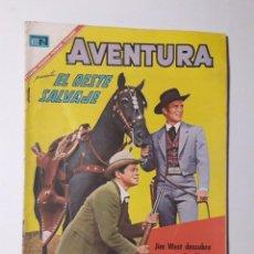 Tebeos: AVENTURA Nº 487 - EL OESTE SALVAJE - ORIGINAL EDITORIAL NOVARO. Lote 218188283