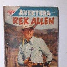 Tebeos: AVENTURA Nº 87 - REX ALLEN - ORIGINAL EDITORIAL NOVARO. Lote 218188905