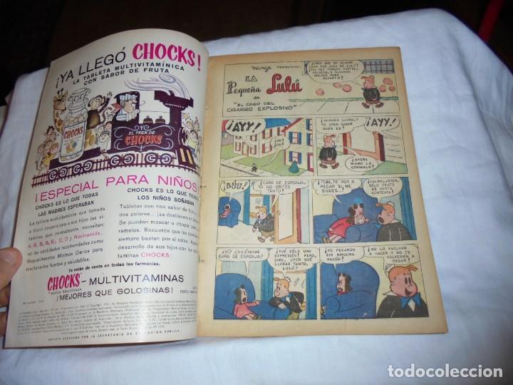 Tebeos: LA PEQUEÑA LULU Nº 199.EDICIONES NOVARO 1964.PROCEDE DE RETAPADO VER FOTOS - Foto 3 - 218215310