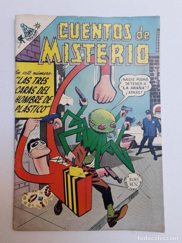 CUENTOS DE MISTERIO Nº 132 - ORIGINAL EDITORIAL NOVARO (Tebeos y Comics - Novaro - Sci-Fi)