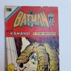 Tebeos: BATMAN Nº 744 - ORIGINAL EDITORIAL NOVARO. Lote 218273118