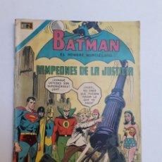 Giornalini: BATMAN Nº 563 - CAMPEONES DE LA JUSTICIA - ORIGINAL EDITORIAL NOVARO. Lote 218273836