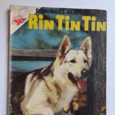 Tebeos: DOMINGOS ALEGRES Nº 161 - RIN TIN TIN - ORIGINAL EDITORIAL NOVARO. Lote 218370916