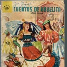 Tebeos: CUENTOS DE ABUELITO Nº 116 - LAS SIETE ZAPATILLAS DE LA PRINCESA - EDITORA SOL, ES - MEXICO 1962. Lote 218442756