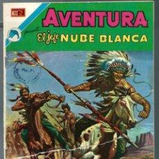 Tebeos: AVENTURA Nº 785 - EL JEFE NUBE BLANCA - NOVARO 1973 - VER DESCRIPCION. Lote 218442972