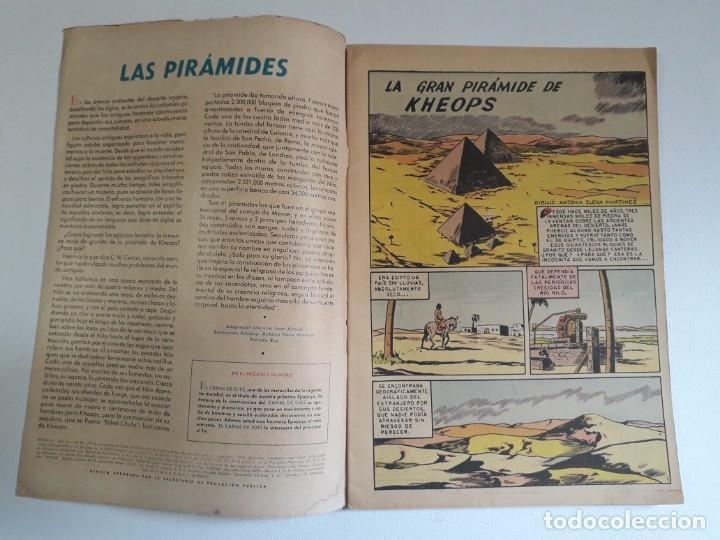 Tebeos: Epopeya nº 30 - La gran pirámide de Keops - original editorial Novaro - Foto 2 - 218474226