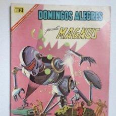 Giornalini: DOMINGOS ALEGRES Nº 702 - MAGNUS! - ORIGINAL EDITORIAL NOVARO. Lote 218572742