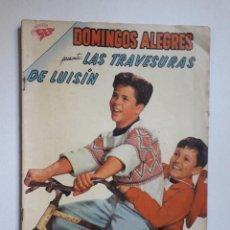 Tebeos: DOMINGOS ALEGRES Nº 360 - LAS AVENTURAS DE LUISÍN - ORIGINAL EDITORIAL NOVARO. Lote 218573425