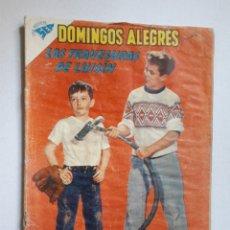 Tebeos: DOMINGOS ALEGRES Nº 338 - LAS AVENTURAS DE LUISÍN - ORIGINAL EDITORIAL NOVARO. Lote 218573773