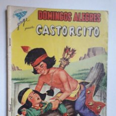 Tebeos: DOMINGOS ALEGRES Nº 266 - CASTORCITO! - ORIGINAL EDITORIAL NOVARO. Lote 218574057