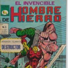 Tebeos: EL INVENCIBLE HOMBRE DE HIERRO - AÑO I - Nº 6 - ABRIL 30 DE 1969 *** EDITORIAL LA PRENSA MÉXICO ***. Lote 218576185