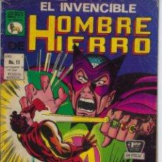 Tebeos: EL INVENCIBLE HOMBRE DE HIERRO - AÑO I - Nº 11 - SEP. 30 DE 1969 *** EDITORIAL LA PRENSA MÉXICO ***. Lote 218576570