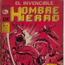 Tebeos: EL INVENCIBLE HOMBRE DE HIERRO - AÑO II - Nº 13 - NOV. 30 DE 1969 *** EDITORIAL LA PRENSA MÉXICO ***. Lote 218576802