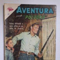 Tebeos: AVENTURA Nº 307 - PÓLVORA - ORIGINAL EDITORIAL NOVARO. Lote 218578338