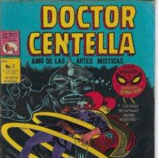 Tebeos: DOCTOR CENTELLA - AÑO I - Nº 7, JULIO 31 DE 1969 *** EDITORIAL LA PRENSA MÉXICO ***. Lote 218578353