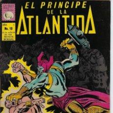 Tebeos: EL PRÍNCIPE DE LA ATLÁNTIDA - Nº 10, AGOSTO 31 DE 1969 ** EDITORA DE PERIODICOS, S.C.L, LA PRENSA **. Lote 218580106