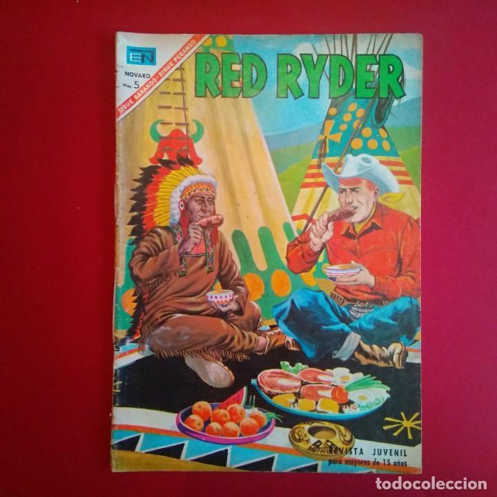 RED RYDER - NOVARO (LOMO COSIDO) (Tebeos y Comics - Novaro - Red Ryder)