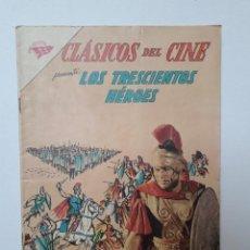 Tebeos: CLÁSICOS DEL CINE Nº 95 - LOS TRESCIENTOS HÉROES - ORIGINAL EDITORIAL NOVARO. Lote 218769791