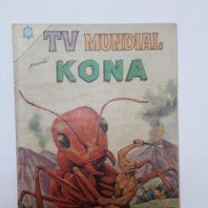 Tebeos: TV MUNDIAL Nº 42 - KONA - ORIGINAL EDITORIAL NOVARO. Lote 218770672