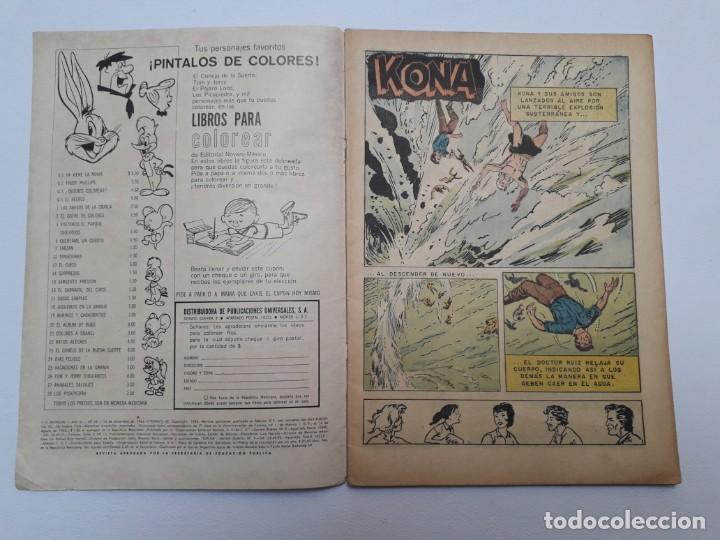 Tebeos: Tv mundial nº 42 - Kona - original editorial Novaro - Foto 2 - 218770672