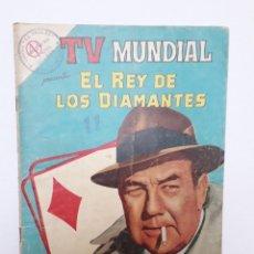 Tebeos: TV MUNDIAL Nº 25 - EL REY DE LOS DIAMANTES - ORIGINAL EDITORIAL NOVARO. Lote 218771470