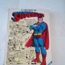 Tebeos: LA HISTORIA DE SUPERMAN - TOMO TAPA DURA - EDITORIAL NOVARO - MUY BUEN ESTADO - GORBAUD -. Lote 219063635