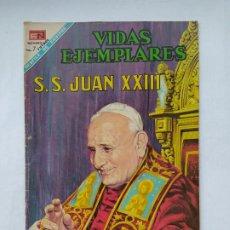 Tebeos: VIDAS EJEMPLARES Nº 273. SU SANTIDAD JUAN XXIII. EDITORIAL NOVARO. TDKC78. Lote 219107836