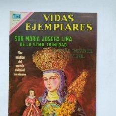 Tebeos: VIDAS EJEMPLARES Nº 324. SOR MARIA JOSEFA LINA DE LA SANTISIMA TRINIDAD. TDKC78. Lote 219109186