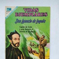Tebeos: VIDAS EJEMPLARES Nº 299. SAN IGNACIO DE LOYOLA. EDITORIAL NOVARO. TDKC78. Lote 219109883