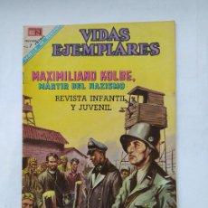 Tebeos: VIDAS EJEMPLARES Nº 271. MAXIMILIANO KOLBE MARTIR DEL NAZISMO. EDITORIAL NOVARO. TDKC78. Lote 219120022