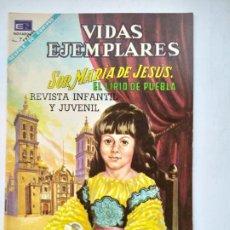 Tebeos: VIDAS EJEMPLARES Nº 283. SOR MARIA JESUS. EL LIRIO DE PUEBLA. EDITORIAL NOVARO. TDKC78. Lote 219120448