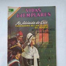 Tebeos: VIDAS EJEMPLARES Nº 286. ADELAIDA DE CICE. EDITORIAL NOVARO. TDKC78. Lote 219120712