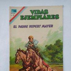 Tebeos: VIDAS EJEMPLARES Nº 257 - EL PADRE RUPERT MAYER - AÑO 1967 - EDITORIAL NOVARO. TDKC78. Lote 219121241